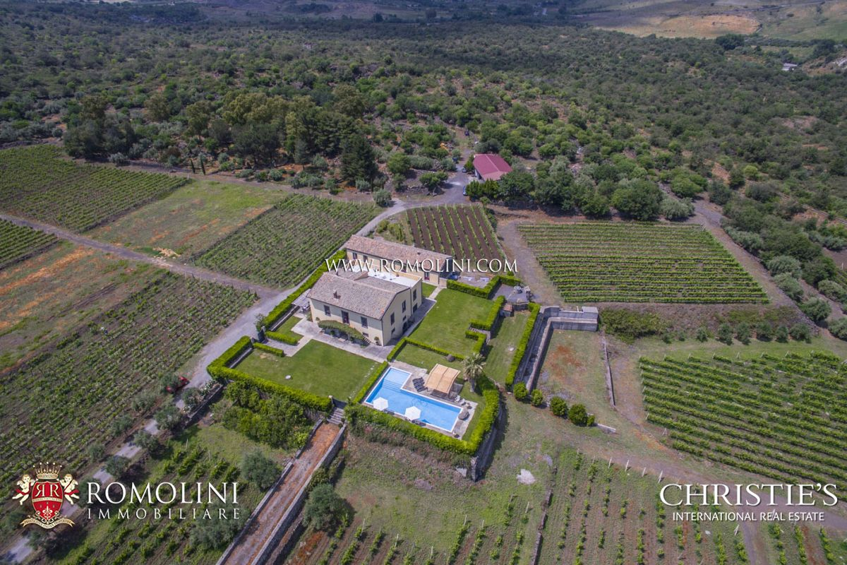 Additional photo for property listing at Sicily - SICILY, SICILIAN WINE ESTATE FOR SALE ETNA ROSSO Castiglione Di Sicilia, Italy