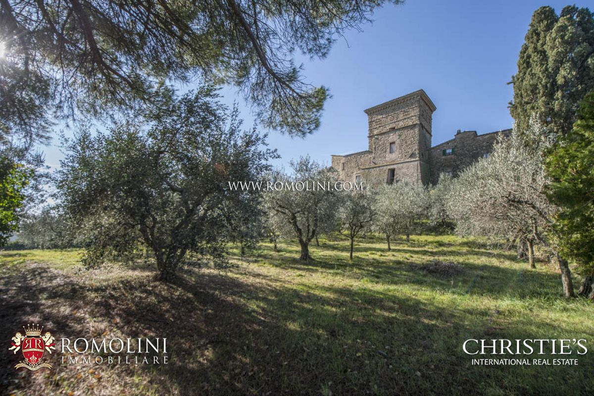 Additional photo for property listing at Umbria - CASTLE WITH OLIVE GROVE FOR SALE, UMBRIA Assisi, Itália