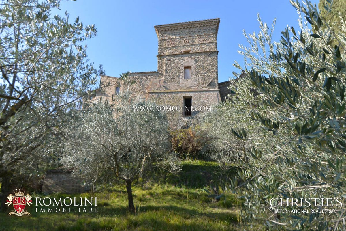 Additional photo for property listing at Umbria - CASTLE WITH OLIVE GROVE FOR SALE, UMBRIA Assisi, 이탈리아
