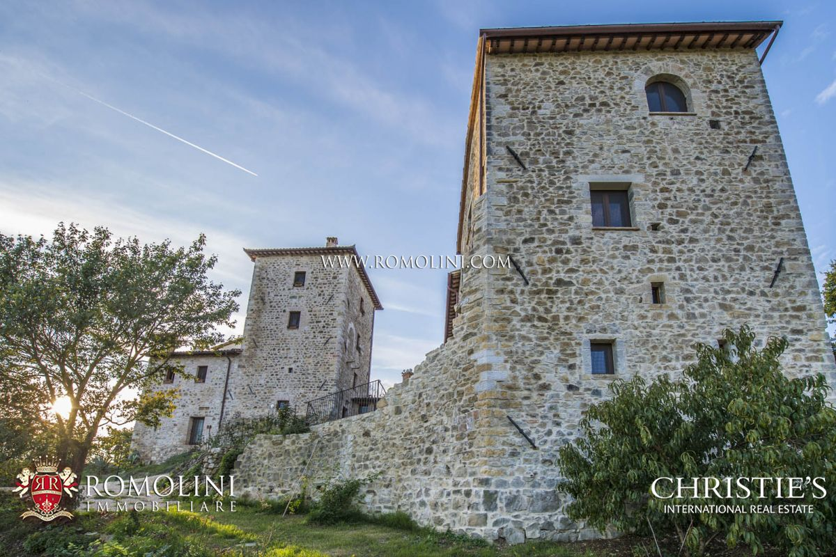 Single Family Home for Sale at Umbria - FARMHOUSES FOR SALE IN TODI, UMBRIA Todi, Italy