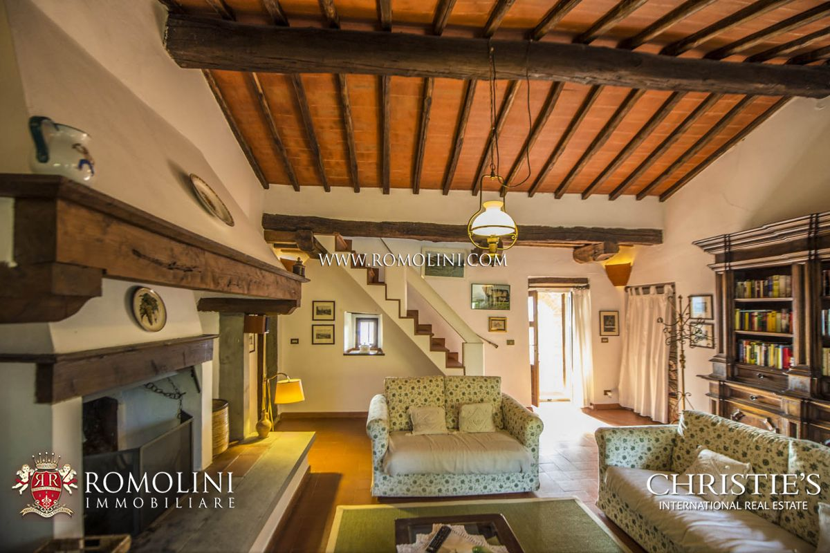 Additional photo for property listing at Tuscany - GREVE IN CHIANTI: STONE HOUSE WITH OLIVE GROVE FOR SALE Greve In Chianti, Italy