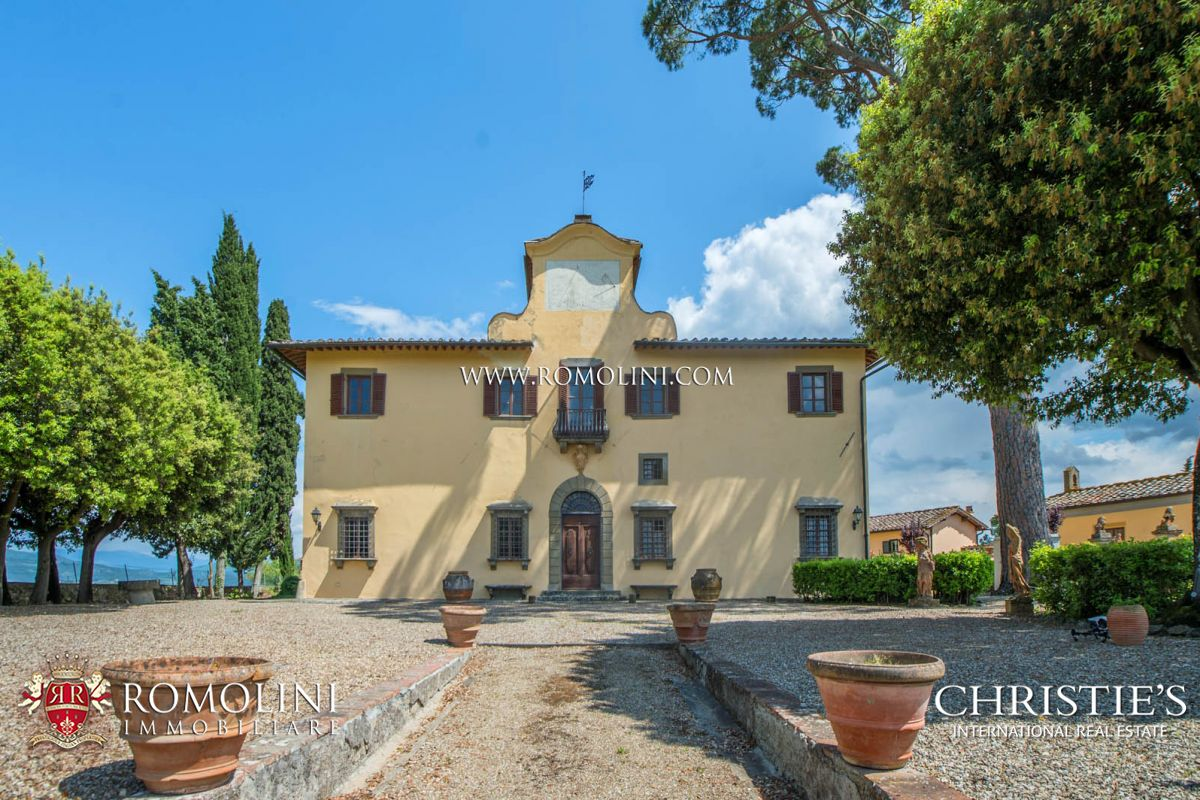 Villas / Townhouses için Satış at Tuscany - 16th CENTURY VILLA FOR SALE IN IMPRUNETA, FLORENCE Impruneta, Italya