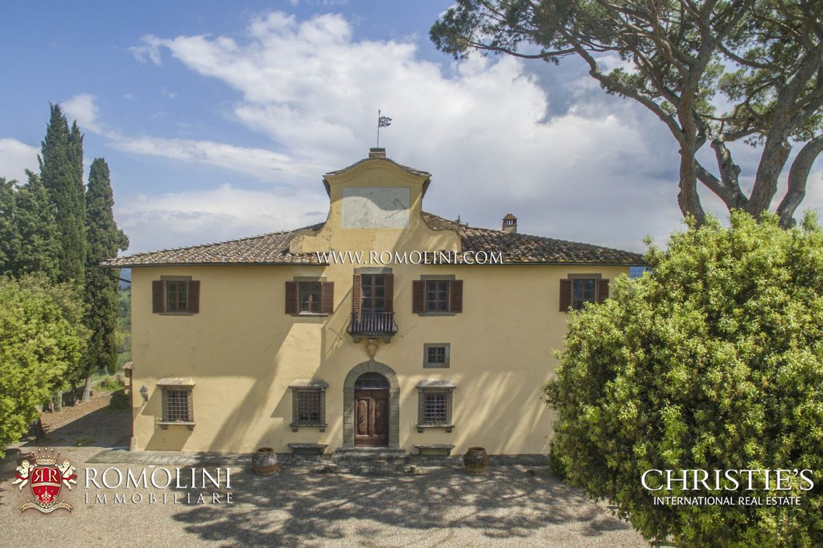 Additional photo for property listing at Tuscany - 16th CENTURY VILLA FOR SALE IN IMPRUNETA, FLORENCE Impruneta, Itália