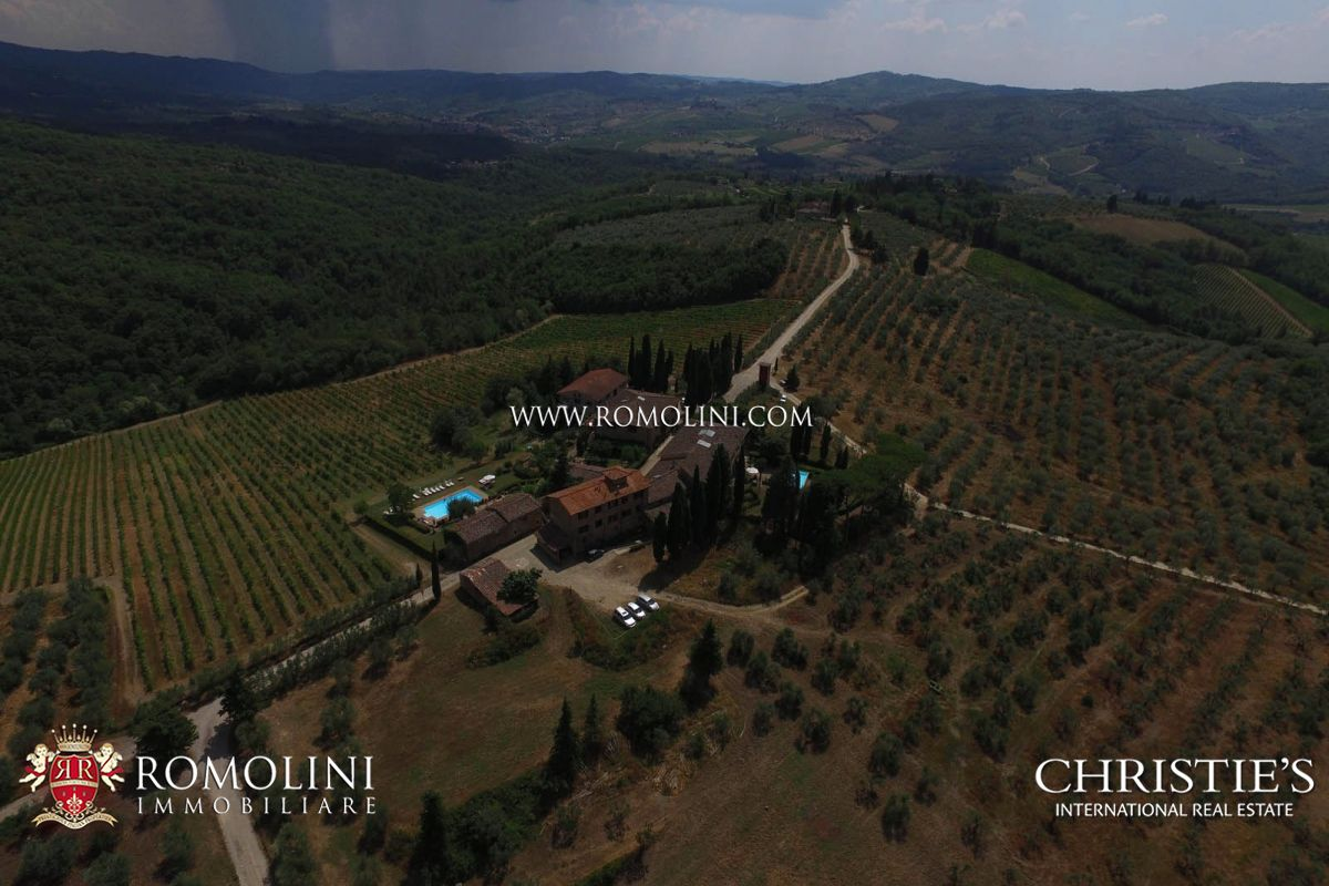 Additional photo for property listing at Tuscany - HAMLET WITH WINERY IN CHIANTI CLASSICO WITH 14 HECTARES OF VINEYARDS Greve In Chianti, 義大利