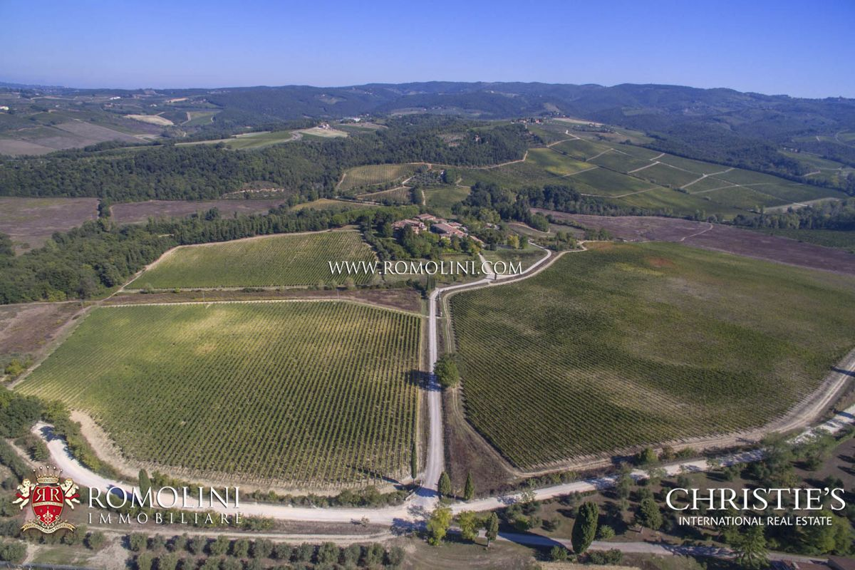 Viñedo por un Venta en Tuscany - WINE ESTATE IN CHIANTI CLASSICO WITH 46 HECTARES OF VINEYARDS, TUSCANY Castellina In Chianti, Italia