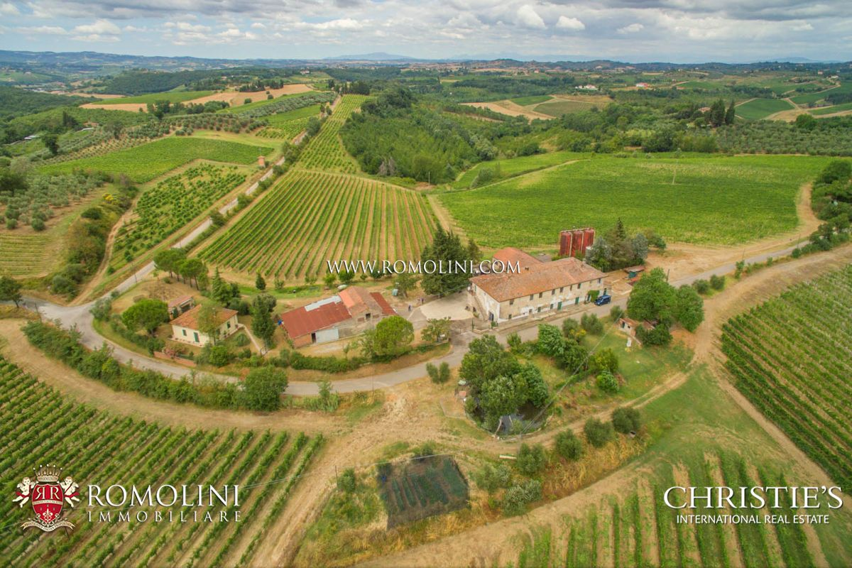 포도원 용 매매 에 Tuscany - WINE ESTATE FOR SALE IN CHIANTI, COLLI FIORENTINI, IN TUSCANY Firenze, 이탈리아