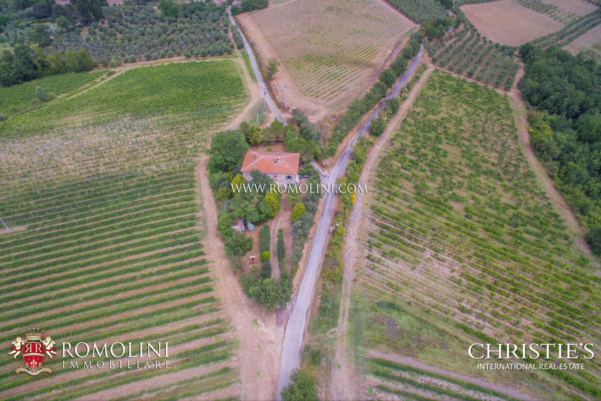 Additional photo for property listing at Tuscany - WINE ESTATE FOR SALE IN CHIANTI, COLLI FIORENTINI, IN TUSCANY Firenze, 이탈리아