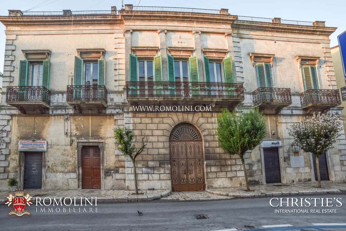 Additional photo for property listing at Apulia - HISTORICAL PROPERTY FOR SALE IN ALTAMURA, APULIA Altamura, Italië