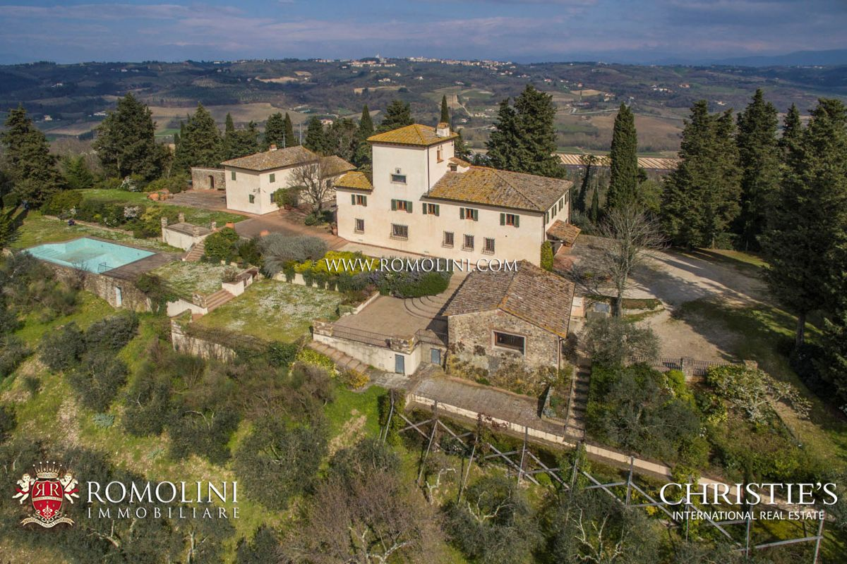 土地 のために 売買 アット Tuscany - LUXURY VILLA WITH VINEYARDS IN CHIANTI, FLORENCE, TUSCANY Firenze, イタリア