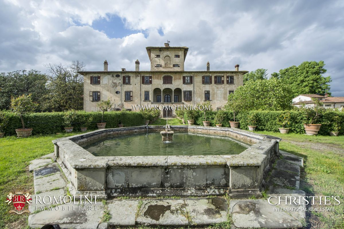 别墅 为 销售 在 Tuscany - MANOR VILLA FOR SALE IN PISTOIA, TUSCANY 皮斯托亚, 意大利