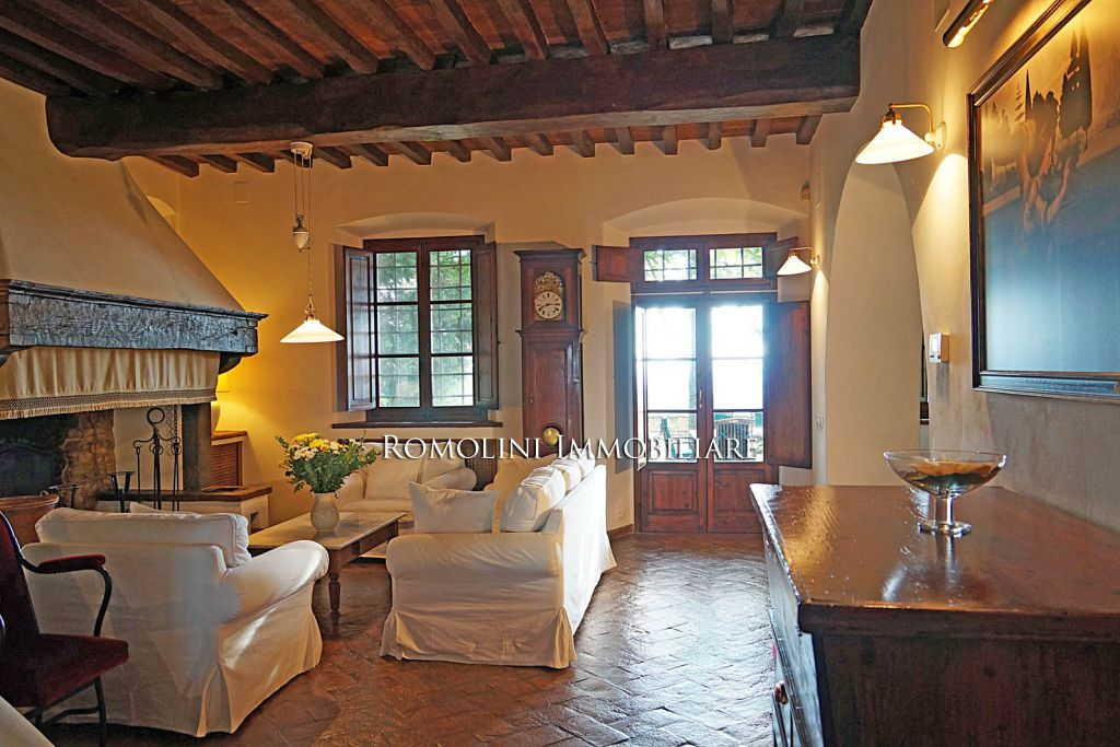Additional photo for property listing at Tuscany - VILLA FOR SALE IN TUSCANY, VILLA WITH STUNNING VIEWS Firenze, Италия