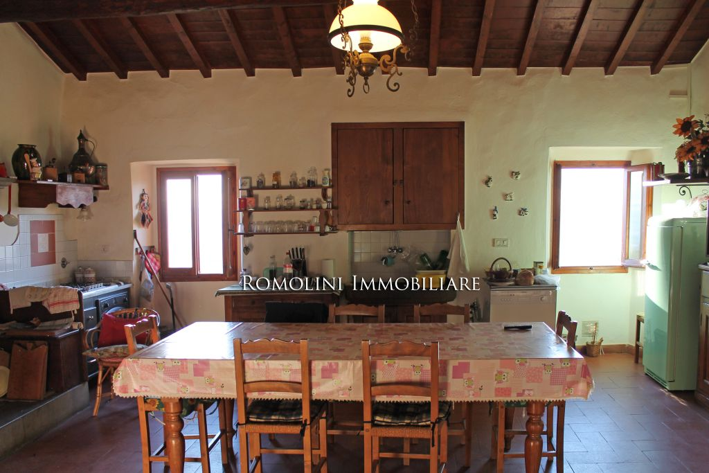 Additional photo for property listing at Tuscany - ITALIAN PROPERTY WITH PANORAMIC VIEW FOR SALE IN TUSCANY, VALDARNO Reggello, 이탈리아