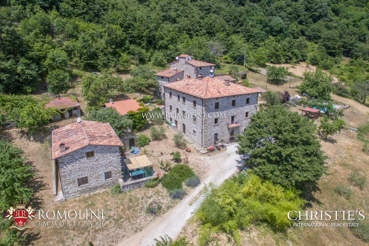 Additional photo for property listing at Tuscany - CAPRESE MICHELANGELO, TUSCANY: ORGANIC AGRITURISMO WITH POOL FOR SALE Caprese Michelangelo, 義大利