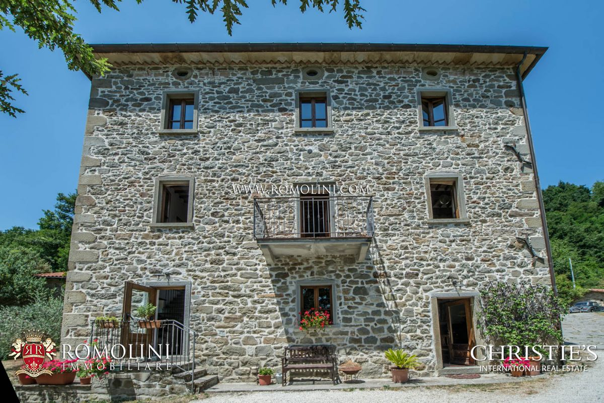 Additional photo for property listing at Tuscany - CAPRESE MICHELANGELO, TUSCANY: ORGANIC AGRITURISMO WITH POOL FOR SALE Caprese Michelangelo, イタリア