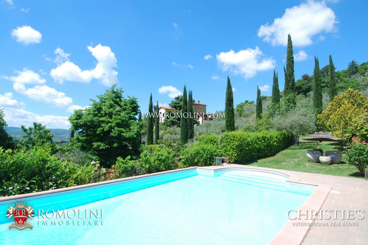 Vinhedo para Venda às Tuscany - VILLA WITH PANORAMIC VIEW FOR SALE, AREZZO Arezzo, Itália