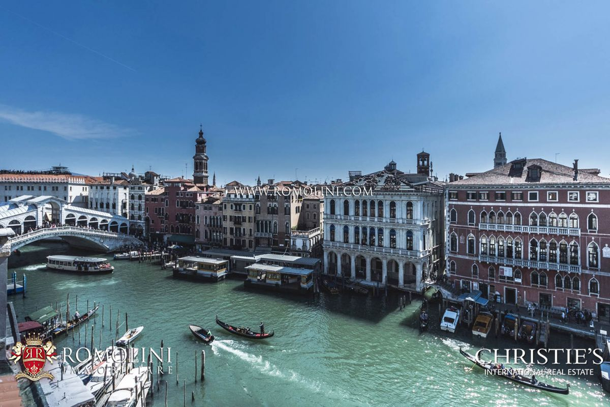 Apartments / Residences for Sale at Veneto - LUXURY PENTHOUSE FOR SALE ON THE CANAL GRANDE, VENEZIA Venice, Italy