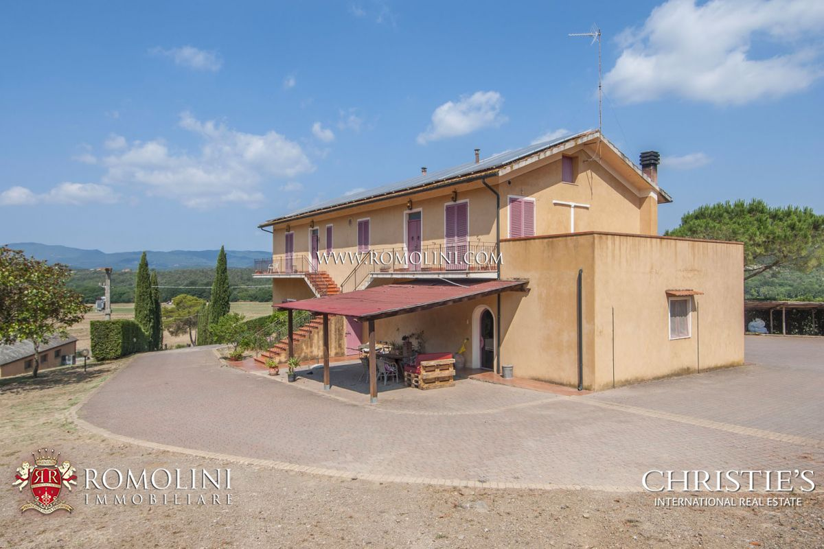 Apartments / Residences for Sale at Tuscany - WINE ESTATE FOR SALE IN THE TUSCAN MAREMMA, GROSSETTO Maremma, Italy