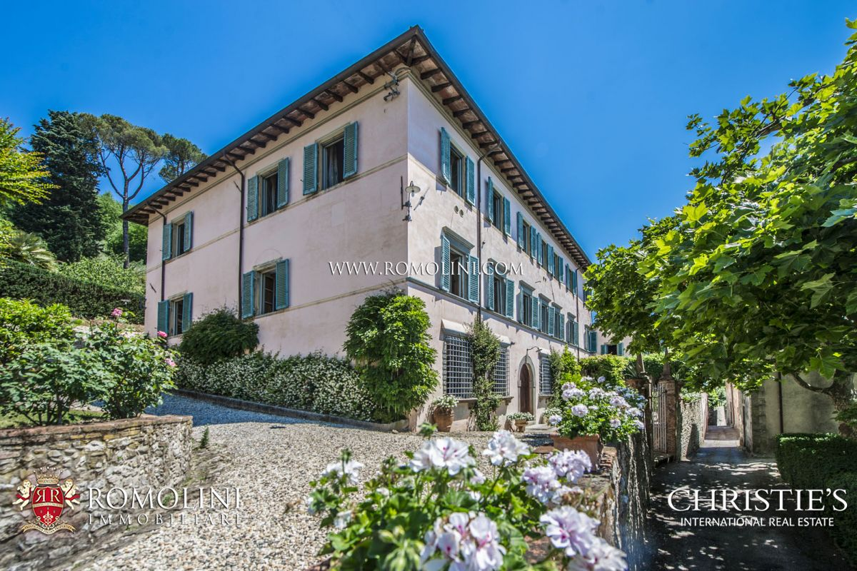 Apartments / Residences for Sale at Tuscany - PRESTIGIOUS 17TH CENTURY VILLA WITH 12 HA OF LAND FOR SALE, LUCCA Lucca, Italy