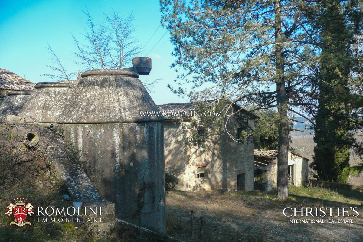 Additional photo for property listing at Tuscany - SIENA: HISTORIC ESTATE WITH MANOR HOUSE, CHURCH AND LAND FOR SALE Siena, Италия