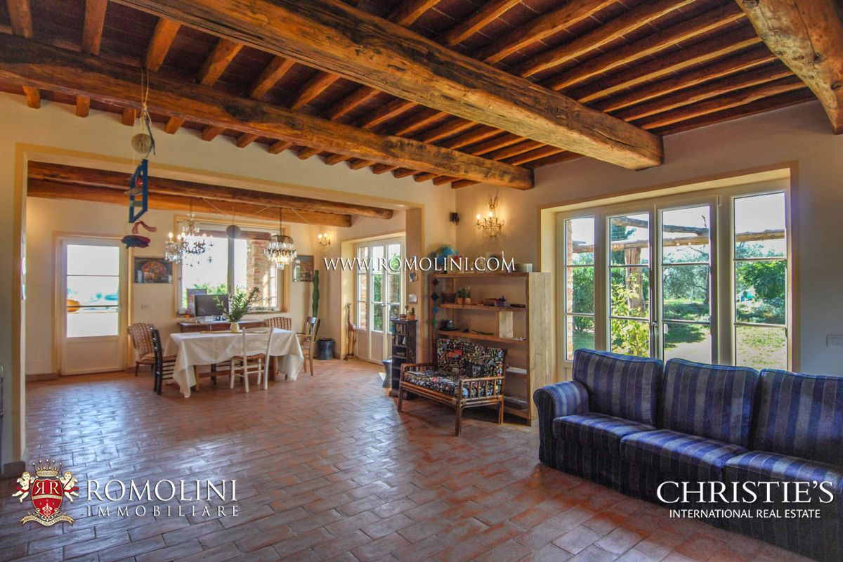 Tuscany Tuscany Eco Friendly Farmhouse With Garden And Olive Grove A Luxury Home For Sale In