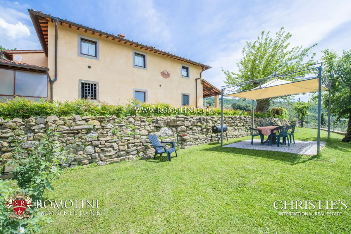 Apartments / Residences for Sale at Tuscany - AREZZO: PRESTIGIOUS AGRITURISMO WITH POOL AND OLIVE GROVE Arezzo, Italy