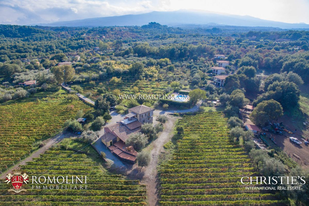 Vineyard for Sale at Sicily - ETNA ROSSO ESTATE FOR SALE, CASTIGLIONE DI SICILIA Castiglione Di Sicilia, Italy