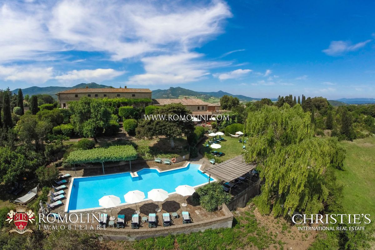 Tuscany - TYPICAL TUSCAN FARMHOUSE, AGRITURISMO FOR SALE, VOLTERRA Volterra, Italy