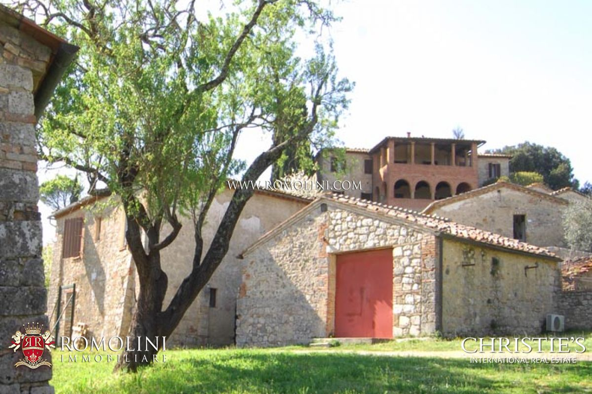 Additional photo for property listing at Tuscany - FARM WINE ESTATE FOR SALE IN SIENA, VINEYARDS, OLIVE GROVE Siena, Italië