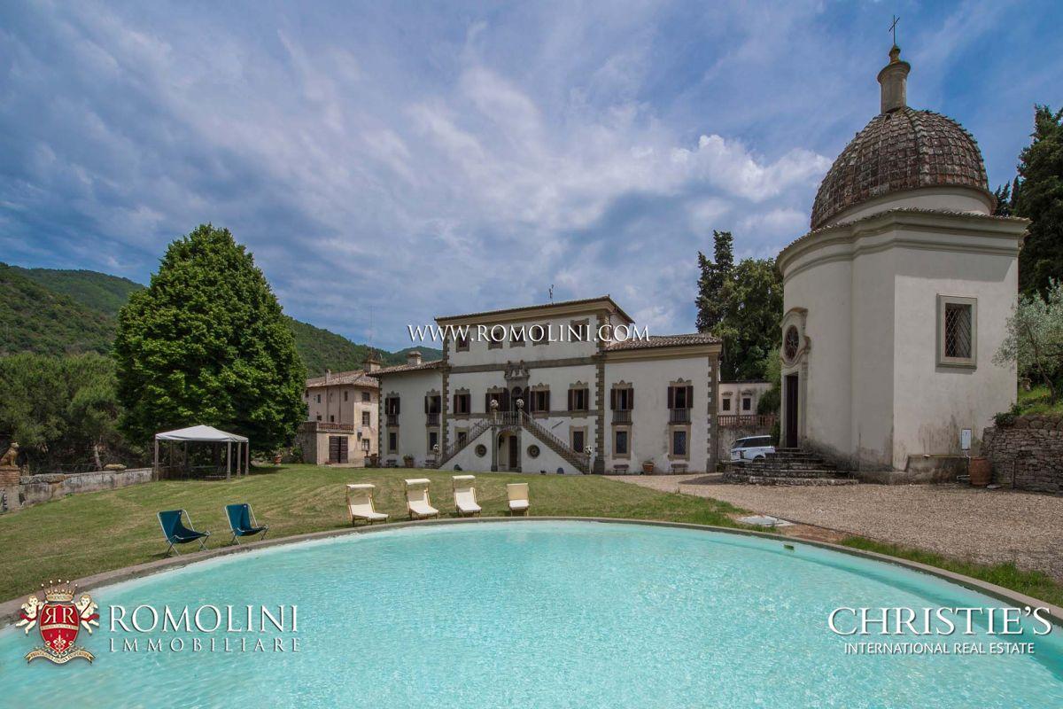 别墅 为 销售 在 Chianti - BEAUTIFUL MANOR VILLA FOR SALE IN TUSCANY 基安蒂, 意大利