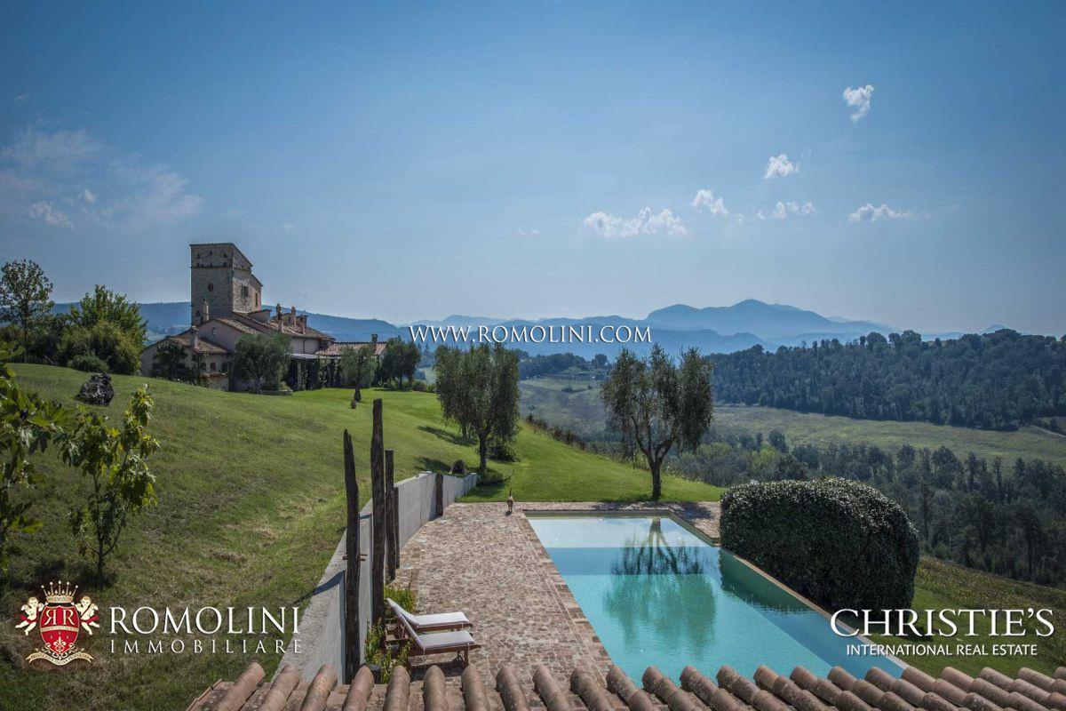 3D Immobiliare Terni umbria - restored luxury farmhouse for sale amelia, umbria