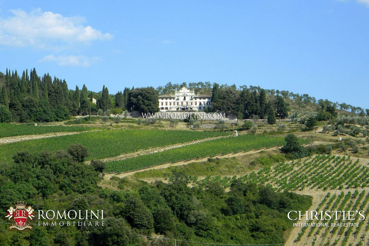 Виноградник для того Продажа на Tuscany - WINE ESTATE WITH LUXURY VILLA IN THE HEART OF CHIANTI, TUSCANY Gaiole In Chianti, Италия