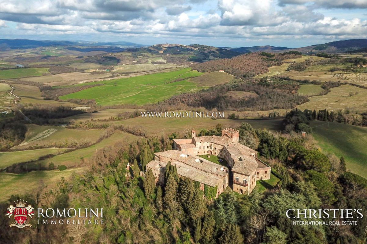 Villas Near Siena Italy tuscany - a renovation project for a boutique hotel and