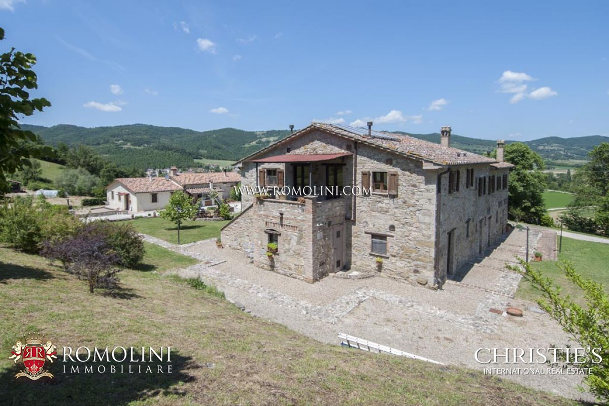别墅 为 销售 在 Umbria - AGRITURISMO FOR SALE IN UMBERTIDE UMBRIA Umbertide, 意大利