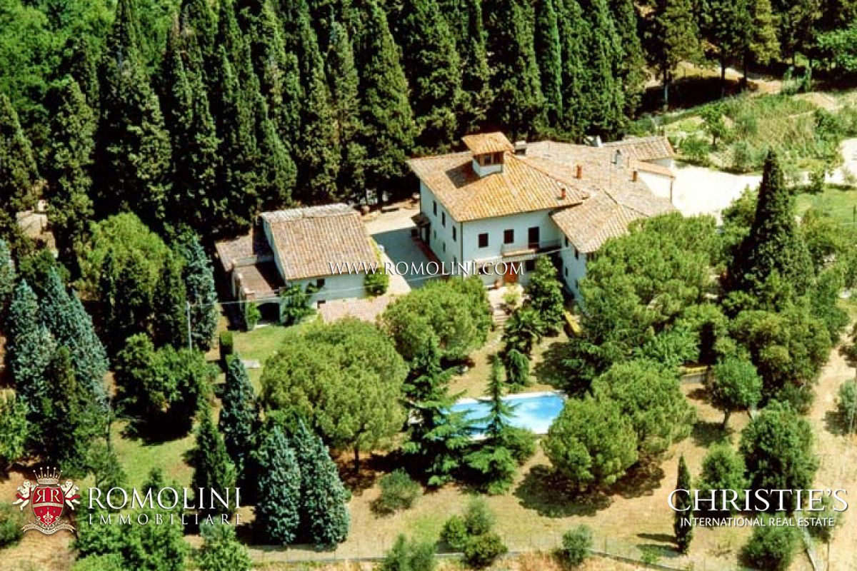 葡萄園 為 出售 在 Tuscany - CHIANTI WINE ESTATE, OLIVE OIL MILL FOR SALE IN TUSCANY Firenze, 義大利