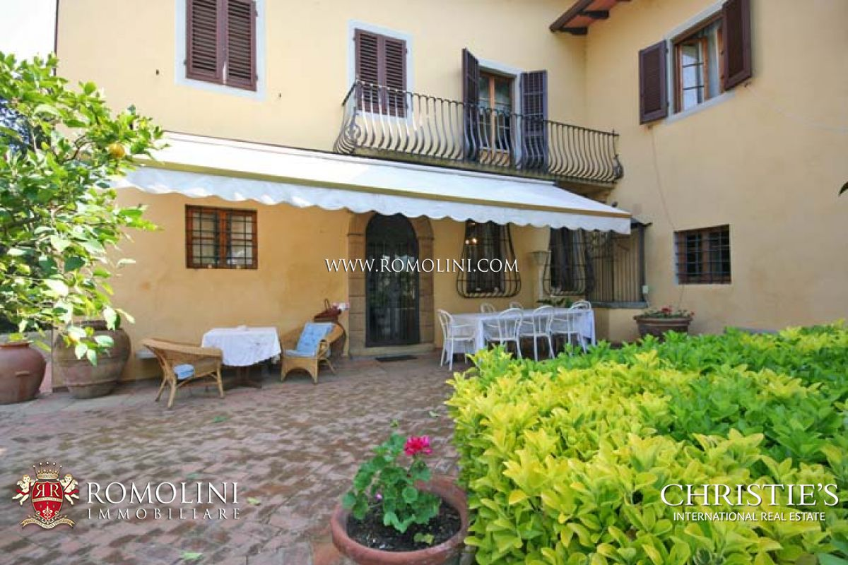 Additional photo for property listing at Tuscany - CHIANTI WINE ESTATE, OLIVE OIL MILL FOR SALE IN TUSCANY Firenze, Italia