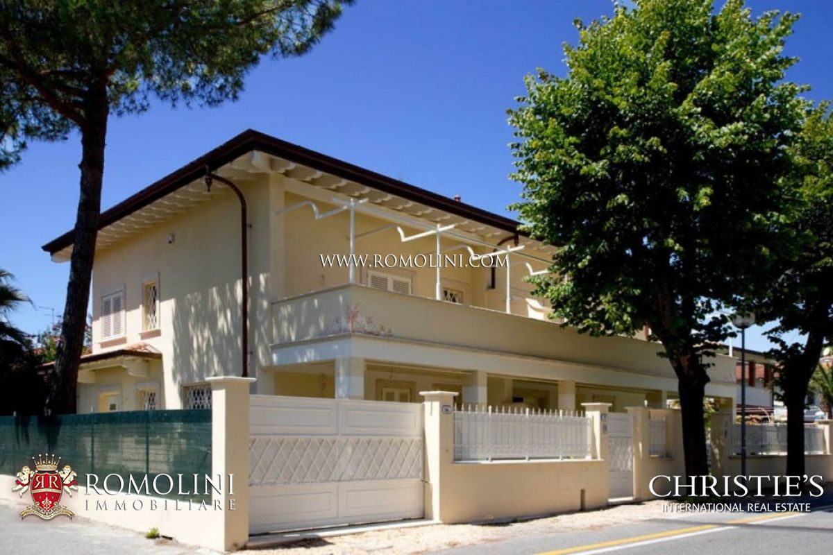 Apartments / Residences for Sale at Tuscany - VILLA DIVIDED INTO TWO SECTIONS FOR SALE IN FORTE DEI MARMI Forte Dei Marmi, Italy