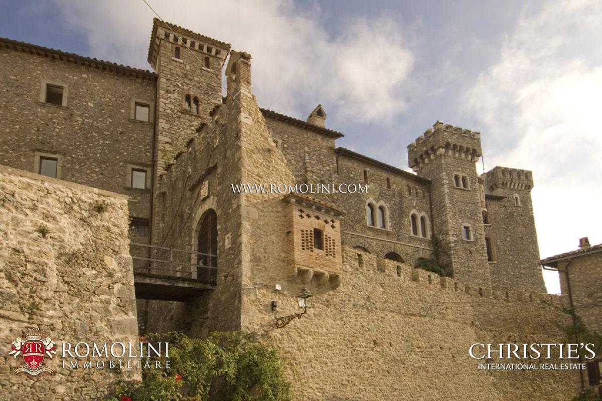 Castello in vendita ad un ora da roma for Piani di casa castello medievale