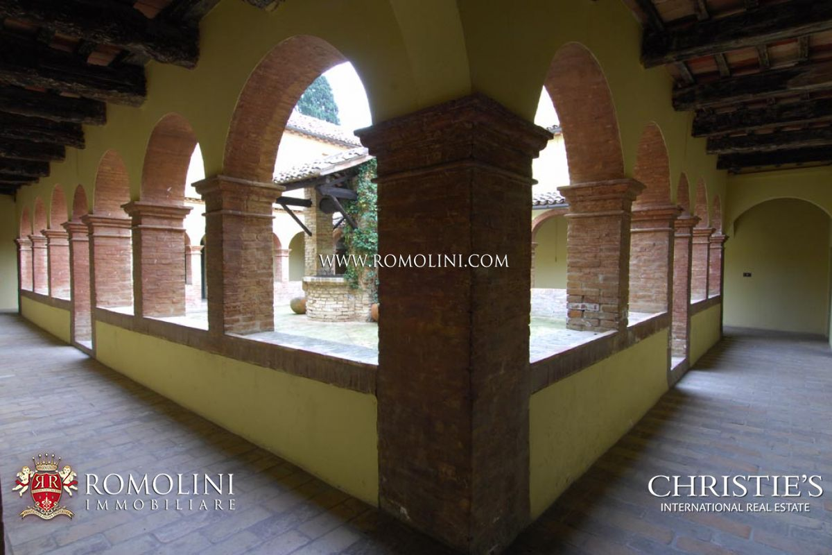 Additional photo for property listing at Marche - ADRIATIC COAST: HISTORICAL CONVENT WITH SEA VIEW FOR SALE Gabicce, Italy