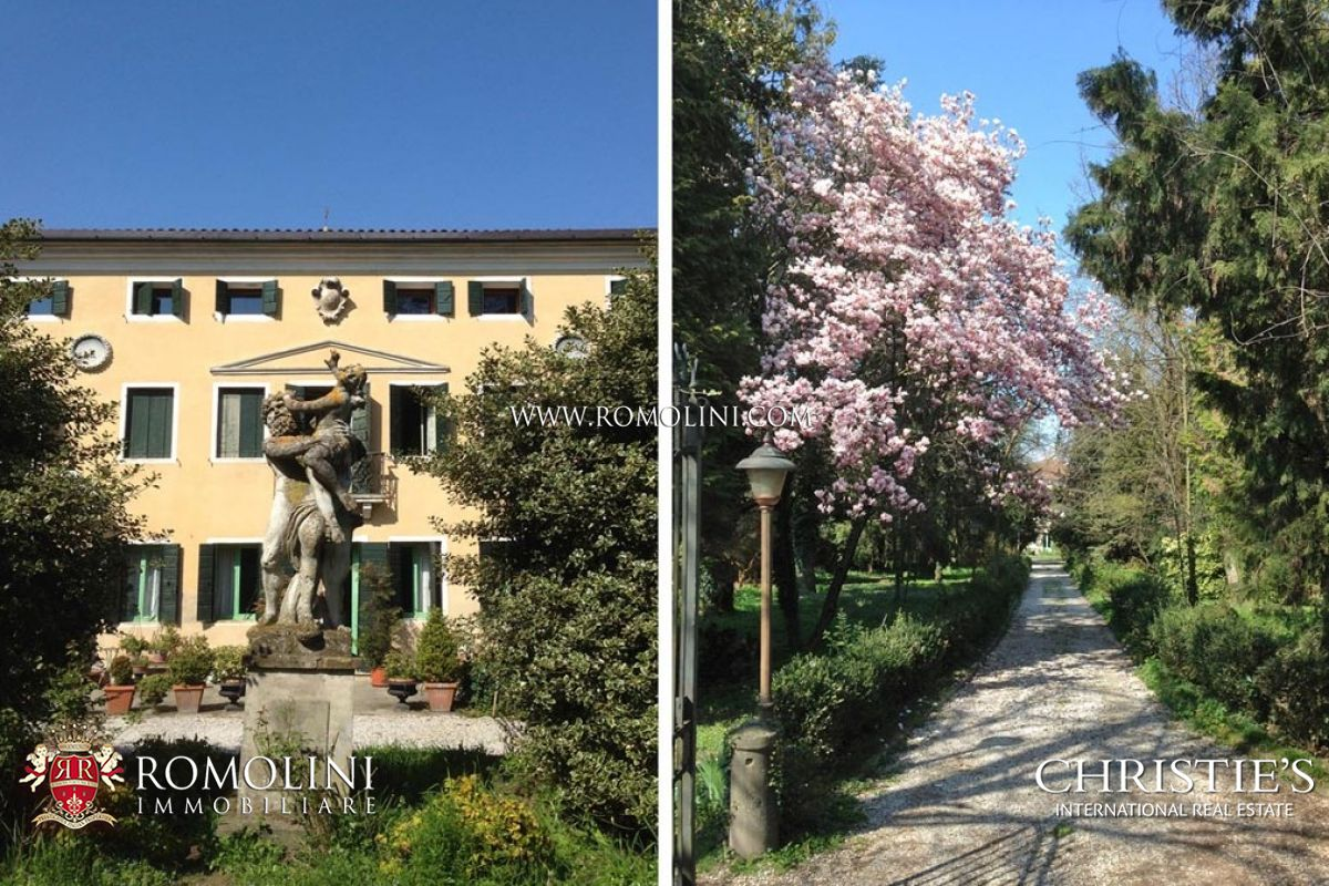 Additional photo for property listing at Veneto - 18TH CENTURY VILLA FOR SALE IN VENICE Fiesso D Artico, Italia