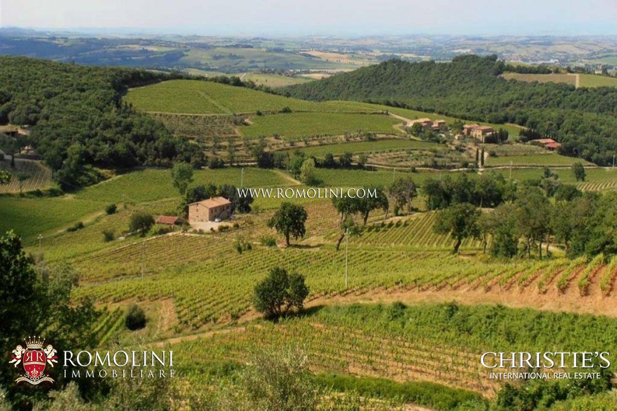 Vignoble pour l Vente à Tuscany - TUSCAN BRUNELLO DI MONTALCINO VINEYARDS WINERY FOR SALE. DOCG Montalcino, Italie