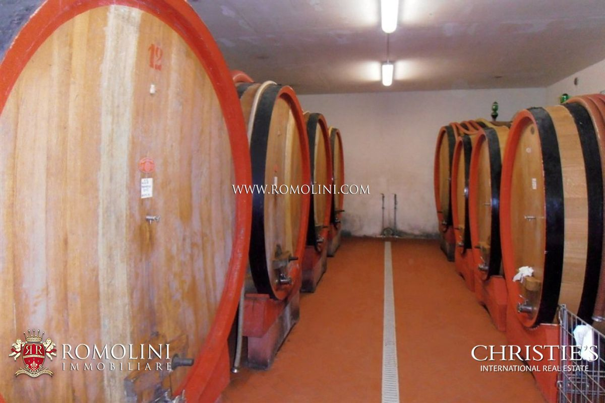 Additional photo for property listing at Tuscany - TUSCAN BRUNELLO DI MONTALCINO VINEYARDS WINERY FOR SALE. DOCG 蒙塔尔奇诺, 意大利