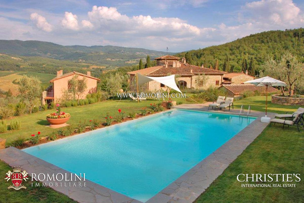Additional photo for property listing at Tuscany - VINEYARD CHIANTI ESTATE FOR SALE IN FLORENCE, TUSCANY Greve In Chianti, Italie