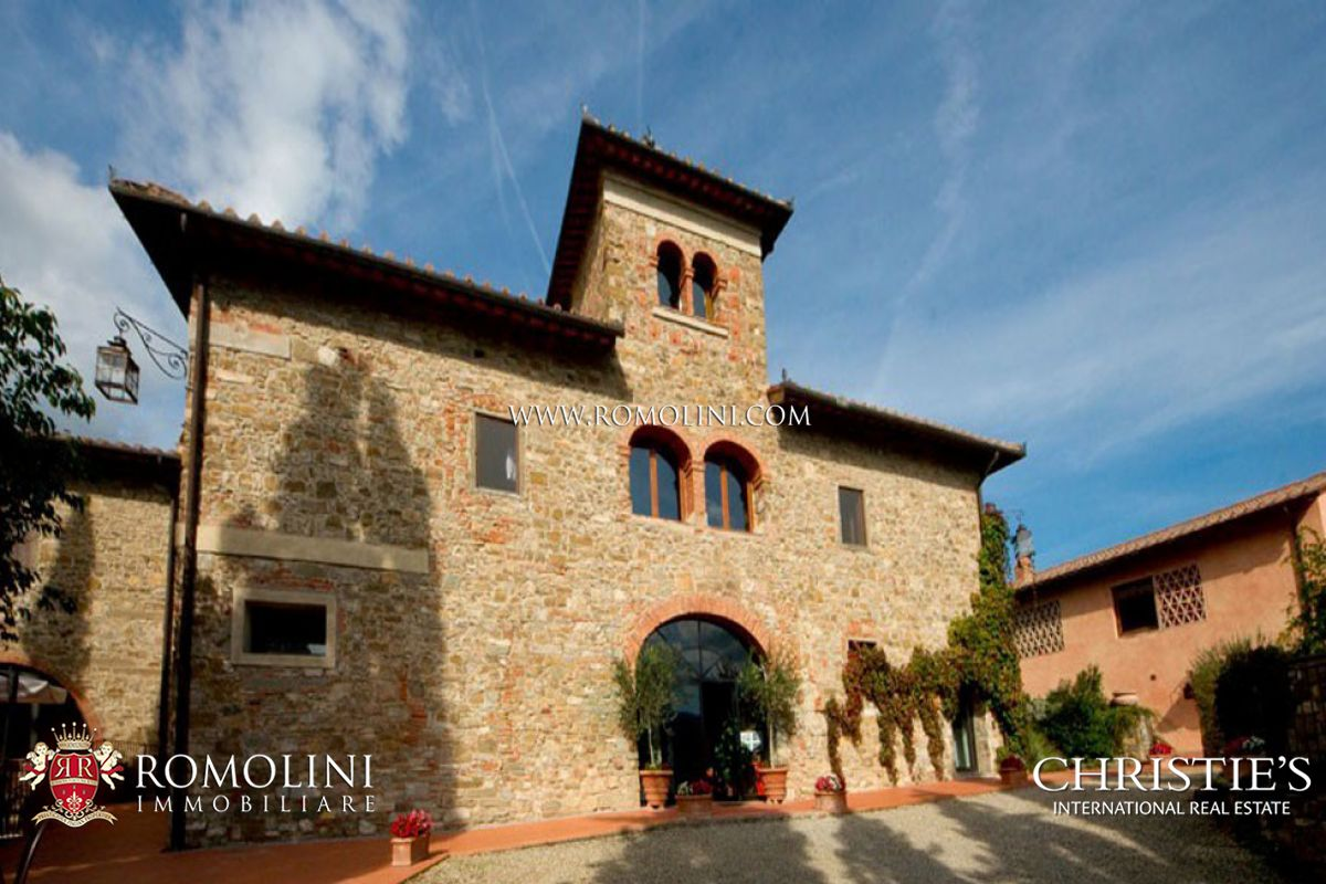 Additional photo for property listing at Tuscany - VINEYARD CHIANTI ESTATE FOR SALE IN FLORENCE, TUSCANY Greve In Chianti, Италия