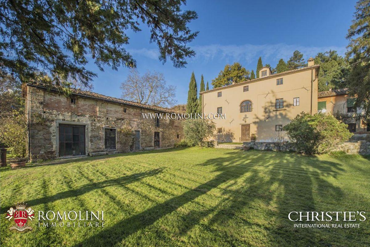 Tuscany Manor Villa For Sale In Italy Tuscany