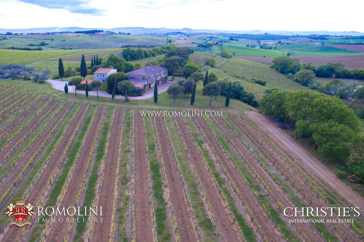 Additional photo for property listing at Tuscany - WINE ESTATE FOR SALE IN MONTEPULCIANO, TUSCANY, ITALY Montepulciano, Italie