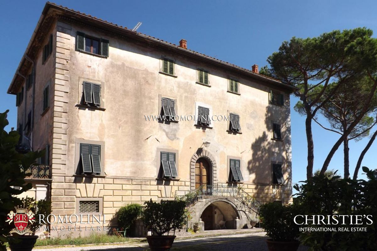 Propiedad inmobiliaria por un Venta en Tuscany - PRESTIGIOUS ESTATE WITH MANOR HOUSE FOR SALE IN TUSCANY Pescia, Italia