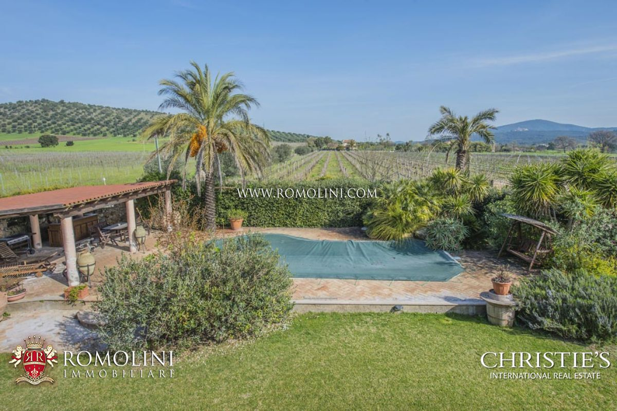 Additional photo for property listing at Tuscany - TUSCAN SEASIDE WINE ESTATE , COASTAL VINEYARDS, MORELLINO DOCG CELLAR FOR SALE,CAPALBIO Capalbio, Ý