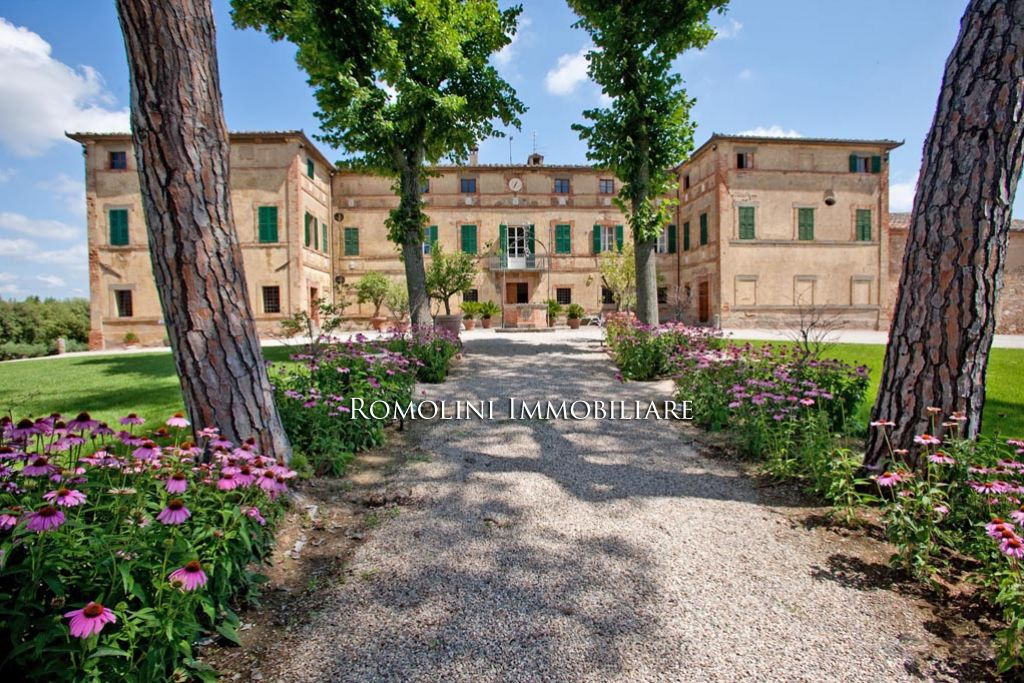 葡萄园 为 销售 在 Tuscany - WINE ESTATE WITH LUXURY PERIOD VILLA, VINEYARD FOR SALE SIENA, TUSCANY 锡耶纳, 意大利