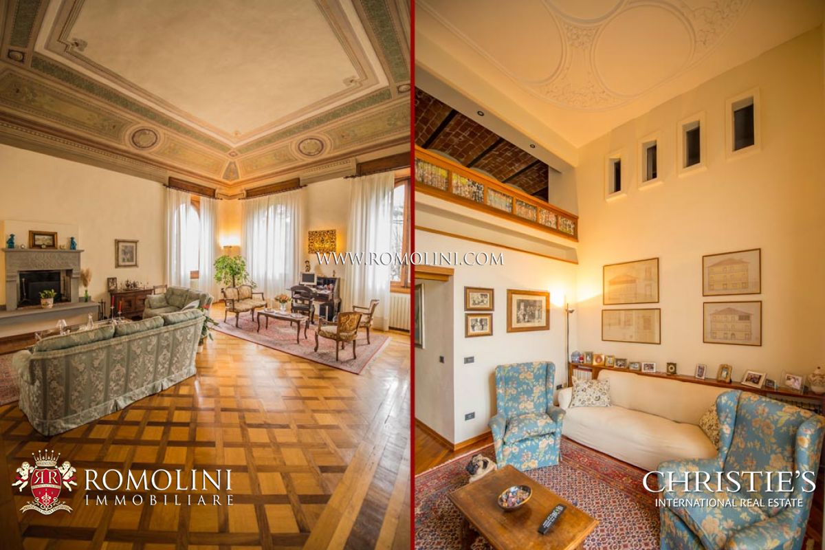 Additional photo for property listing at Tuscany - FIESOLE: LUXURY APARTMENT FOR SALE IN HISTORICAL VILLA IN FLORENCE Fiesole, Италия