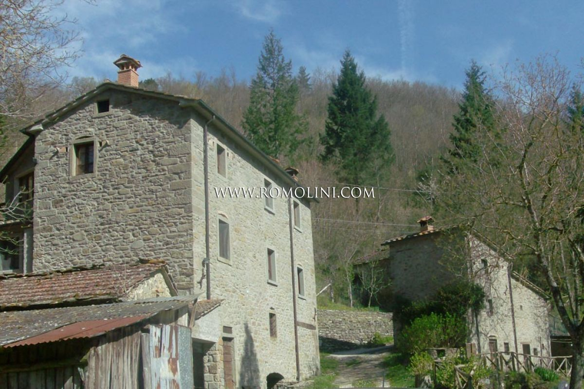 Tuscany Old Mill With Garden For Sale In Caprese Michelangelo A